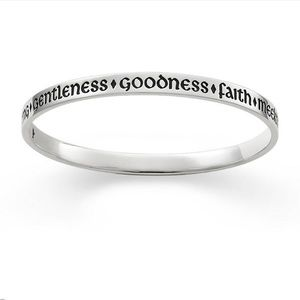 James Avery sterling silver bangle bracelet